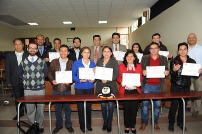Participantes a un Curso de Software Libre